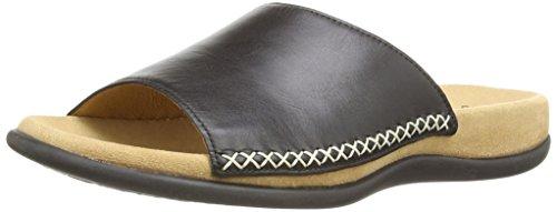 Gabor Shoes 03.705.27 Damen Pantoletten, Schwarz (schwarz) ,41 EU