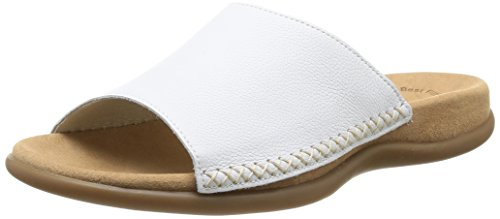 Gabor Shoes 03.705.21 Damen Pantoletten ,Weiß (weiss) ,39 EU