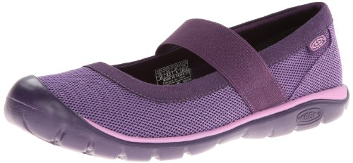 Keen Kanga MJ Damen Schuh Ballerina Slipper Schwarz Violett, BLACKBERRY/PURPLE HEART, 42 EU