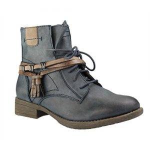 Jana 100% Comfort Stiefeletten Navy 8-25208-27 805 (40)
