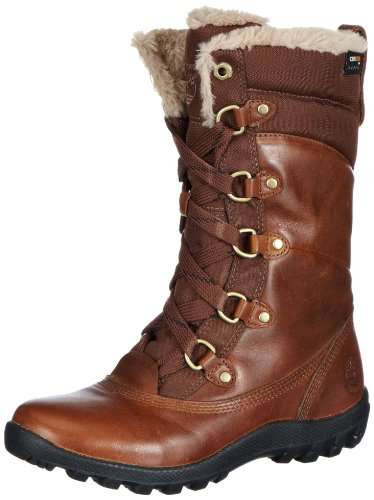 Timberland Mount Hope FTW_Mount Hope Mid F/L WP Boot, Damen Schneestiefel, Braun (DARK BROWN), 38.5 EU