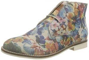 s.Oliver 25100, Damen Desert Boots, Mehrfarbig (FLOWER MULTI 989), 39 EU (6 Damen UK)
