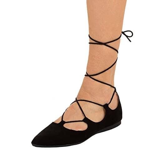 Ballerinas-Schnuerrer